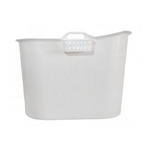 flytbart badekar Showertub flytbart badekar / badebalje i hvid m. afløb flytbart badekar