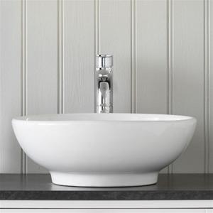 fritstående håndvask Hafa Fine fritstående håndvask 40 x 40 x 16 cm. Lav pris! fritstående håndvask