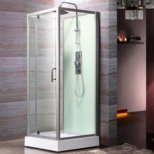 brusekabine 80x80 Brusekabine m. bund, Bathlife Logi 800, 80 x 80 cm brusekabine 80x80