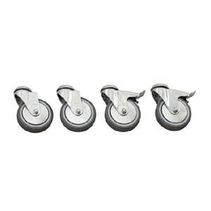 Stærk pris på Plus Cubic hjul Ø100 mm i galvaniseret stål