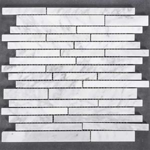 1100eafb224 Formhome Carrara Sticks marmor mosaikfliser 1,02 m2 pr pakke
